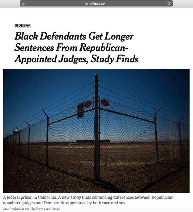 Screenshot NYT on Harvard prison sentencing study 28may 2018 cotin.org.jpg